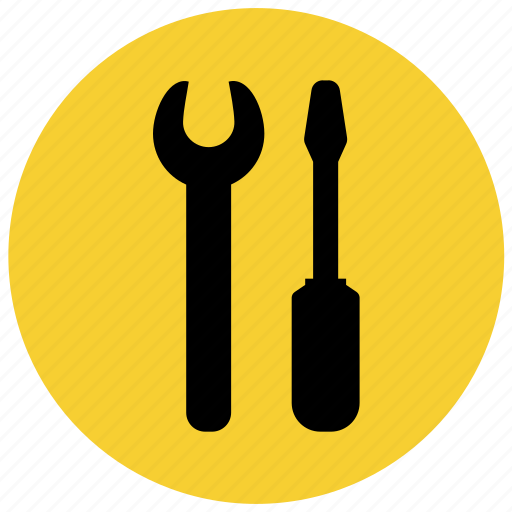 equipment, f1, pitchstop, repair, setting, workshop, wrench icon