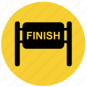 f1, finish, finish line, finish race, goal icon