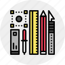 design, designer, digital, tools icon