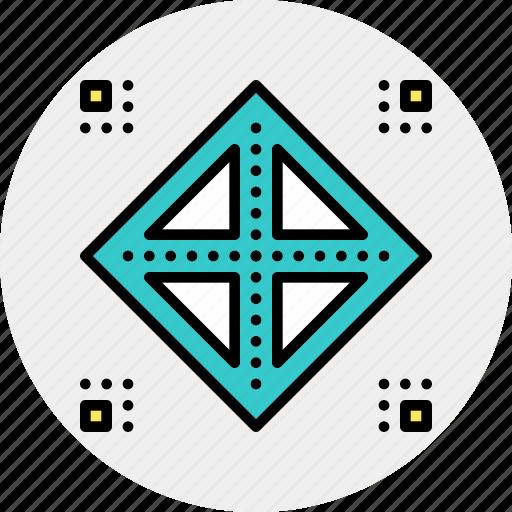 architecture, cluster, grid, model, preparation icon