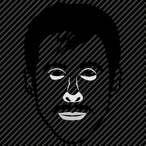 Face Portrait Face Sketch Male Portrait Painting Portrait Photography Icon Download On Iconfinder