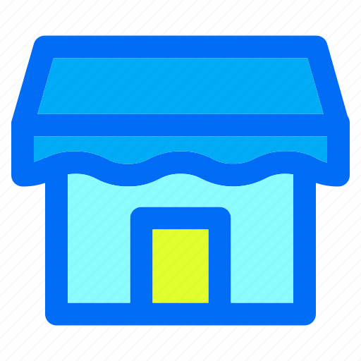 facebook, marketplace, media, shop, social icon