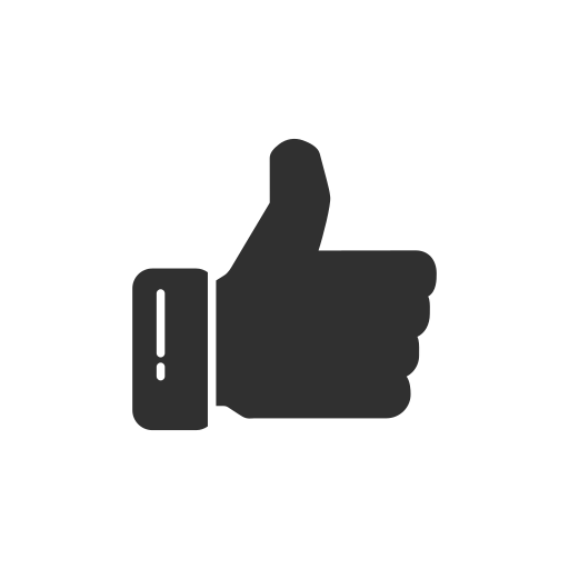 facebook, fb, like, thumbs up icon
