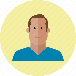 avatar, emoji, face, male, man, people, smile icon