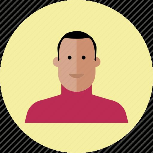 avatar, emoji, face, male, people, person, smile icon