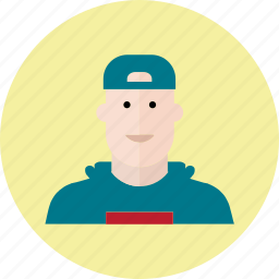 avatar, emoji, face, man, people, smile, smiley icon
