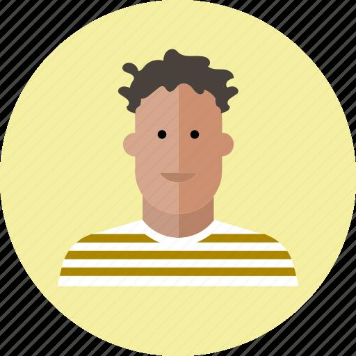 avatar, business, emoji, face, man, people, smile icon