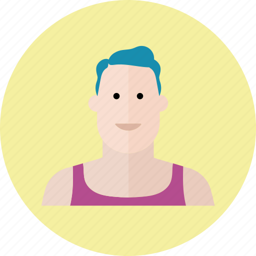 avatar, emoji, face, male, man, people, smile icon