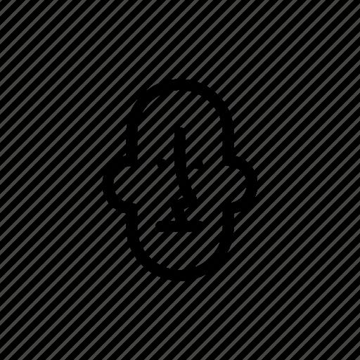 bald, face, grandfather, male, man, meditative, old icon