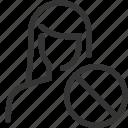 avatar, cross, female, forbidden, girl, no, woman