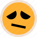 emotion, face, faces, sad, sadness icon