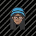 teenagers, black, female, avatar