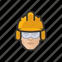 construction, crew, asian, male