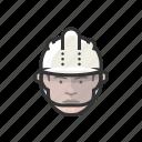 construction, worker, hardhat, caucasian, man