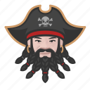 avatar, pirate, man, caucasian