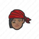 avatar, pirate, woman, african