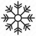 air, christmas, cold, conditioning, snowflake, weather, xmas icon