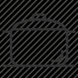 cooking, food, kitchen, kitchenware, pot, restaurant icon