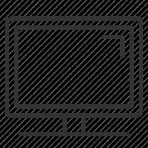 device, display, lcd, monitor, plasma, screen, television icon