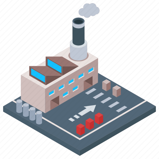 Architecture building, commercial building, factory, industry unit, mill architecture icon - Download on Iconfinder