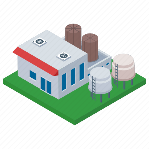 Architecture building, commercial building, industry unit, mill architecture icon - Download on Iconfinder