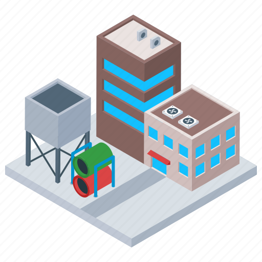 Commercial building, manufacturing plant, warehouse building, warehouse logistic, warehouse unit icon - Download on Iconfinder