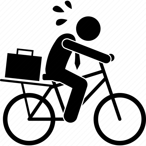 Bicycle, bike, business, businessman, man, poor, riding icon - Download on Iconfinder