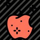 apple, fruit, magic, poison icon