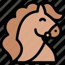 fairytale, horse, trojan, war icon