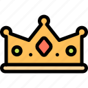 crown, fairytale, king, kingdom icon