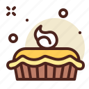 apple, dessert, sweet, fruit, cookie, cake, pie icon