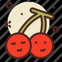 cherries, fruit, sweet