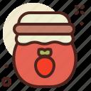jam, jar, sweet
