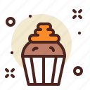 cake, muffin, sweet icon