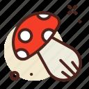 champignon, food, mushroom icon