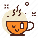 drink, relax, tea icon