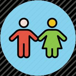 children, kids, kids avatar, two babies icon