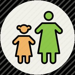 babies, children, kids, kids avatar, siblings icon