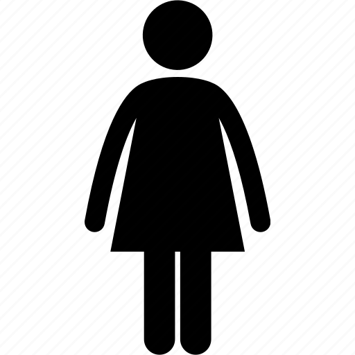 adult, female, girl, mother, person, standing, woman icon