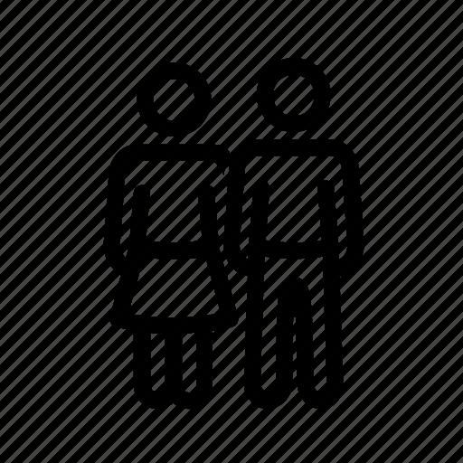 boyfriend, couple, girlfriend, love, people icon