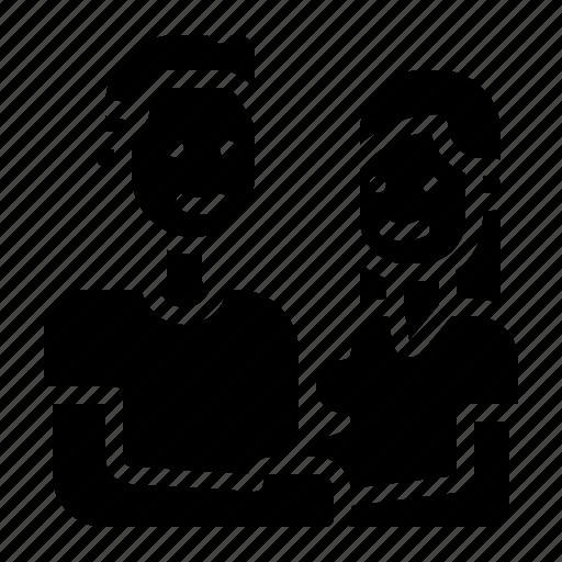 couple, family, parents icon
