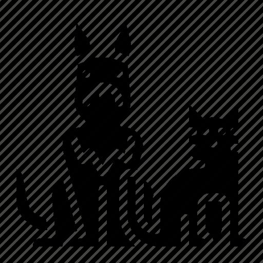 animall, cat, dog, pet icon