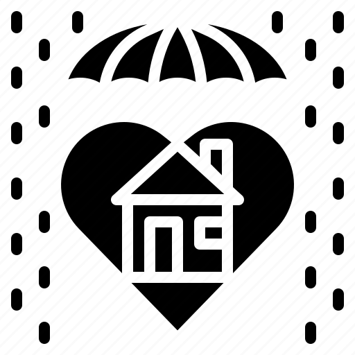 guard, home, protect, umbrella icon