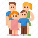 child, dad, family, mom icon
