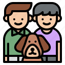 couple, dog, gay, lover