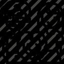 adoption, family, child, parents, daughter icon