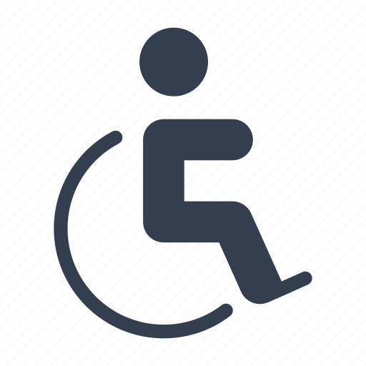 care, disabled, family, health, man, people, pushchair, wheelchair icon