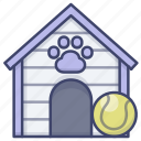 house, doghouse, dog, kennel icon