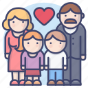 parents, family, children, love
