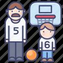 sports, son, parent, father